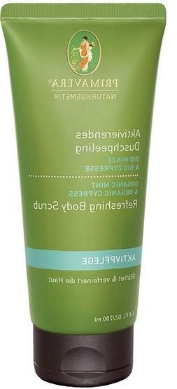 Primavera Life Refreshing Mint Cypress Body Scrub 6.8 oz
