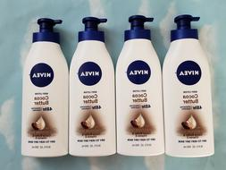 LOT NIVEA COCOA BUTTER BODY LOTION DRY TO VERY DRY SKIN 16.9