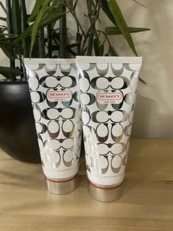 Lot of 2 Authentic COACH Body lotion 3.4oz./100ml. Brand new