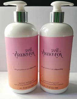 Lot of 2 Philosophy Live Joyously Firming Body Emulsion Loti