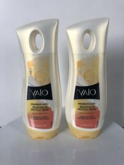 Lot Of 2 - Olay Ultra Moisture In-Shower Body Lotion 8.4floz