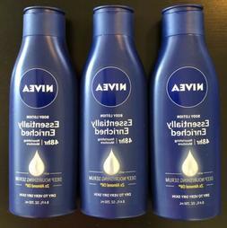 Lot of 8 NIVEA Essentially Enriched w/ Almond Oil Body Lotio
