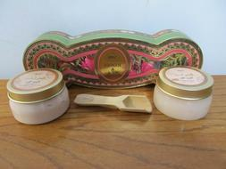 Lot*SABON **ROSES & TEA** Collection Body Lotion And Body Sc