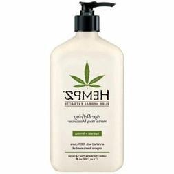 Hempz Lotion Herbal Body moisturizer - Age Defying - 17 fl.