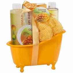 Bath and Body Spa Skincare Gift Set for Women Exotic Tangy M