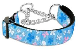 Mirage Pet Products Martingale Butterfly Nylon Ribbon Collar