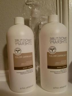 MOISTURE THERAPY  CALMING RELIEF BODY LOTION OATMEAL  ~2LOT~