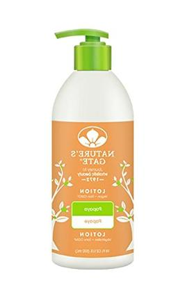 Nature's Gate Moisturizing Lotion, Papaya, 18 Ounce by Natur