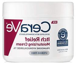 CeraVe Moisturizing Cream for Itch Relief Dry Skin Pramoxine