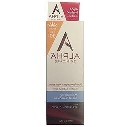 Alpha Skin Care  Moisturizing Facial Sunscreen SPF 30, 3 oz.