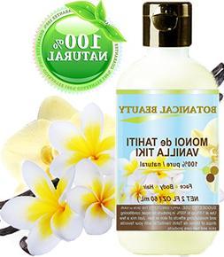 MONOI de TAHITI VANILLA TIKI OIL 100 % Natural / 100% PURE B