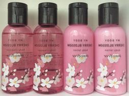 Innisfree My Body Cleanser & lotion 60ml x2 Set Cherry Bloss
