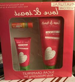 "NATURAL BODY CARE LOVE & TOAST""SUGAR GRAPEFRUIT""BODY LOTION,"