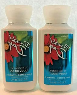 *New* 2-Pack ~ BEAUTIFUL DAY ~TRAVEL BODY LOTION~ Bath & Bod