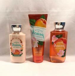 New Bath & Body Works Georgia Peach & Sweet Tea Cream Shower