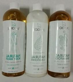 New Puracy Natural Shampoo And Conditioner Citrus & Mint Plu