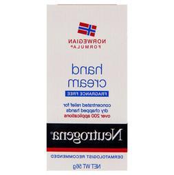 Neutrogena Norwegian Formula Hand Cream 56g Dry Chapped Hand