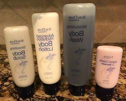 NEW Sentence SeneDerm Lotion, Scrub, Hand Cream, Body Wash S