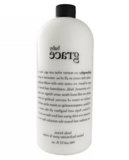 NEW WITH PUMP PHILOSOPHY BABY GRACE BODY LOTION EMULSION 32
