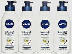 Nivea Lotion Extended Moisture 48Hr 16.9 Ounce Pump