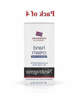 Neutrogena Norwegian Formula Hand Cream, Fragrance-Free, 2 O