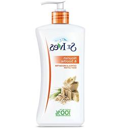 St. Ives Nourish & Soothe, Oatmeal & Shea Butter Body Lotion