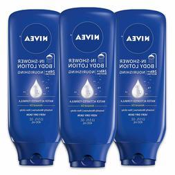 Nivea Nourishing In-Shower Body Lotion For Dry Skin 13.5 fl