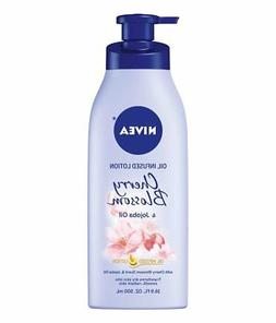 NIVEA Oil Infused Body Lotion Cherry Blossom and Jojoba Oil,