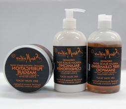 Shea Moisture ORGANIC African Black Soap Set II-Shampoo 12oz
