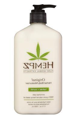 Hempz ORIGINAL Herbal Body Moisturizer Lotion 17 oz
