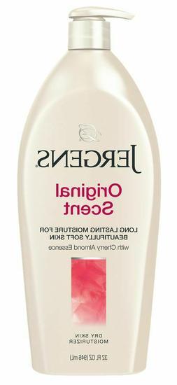 Jergens Original Scent Dry Skin Moisturizer with Cherry Almo