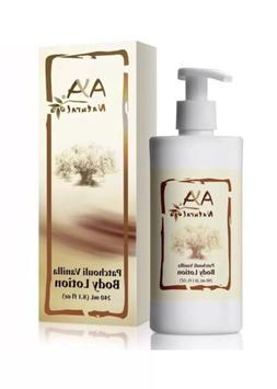 Patchouli-Vanilla Body Lotion for Dry Skin Natural Vegan Oli