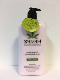 Hempz Pomegranate Herbal Body Moisturizer - 21oz