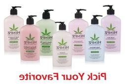 Hempz Pure Herbal Extracts Body Moisturizer Lotion - Pick An