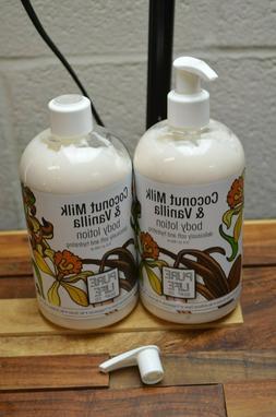 Pure Life Soap Co Coconut Milk Body Lotion 15 Oz  READ