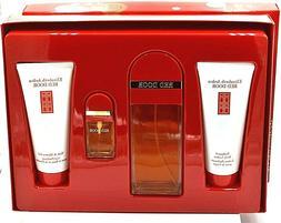 Elizabeth Arden Red Door 4 Pcs Gift Set EDT /Body Lotion Sho