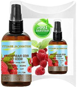 Red Raspbery Seed Oil for Rejuvinating Skin, 30 ml by Botani