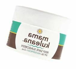 Mama Kuleana Reef Safe Sunscreen SPF 30, Waterproof, 2 oz.