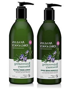 Avalon Organics Rejuvenating Glycerin Rosemary Hand Soap and