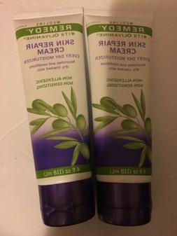 Medline Remedy Skin Repair Cream, 4 Ounce Tube - Pack of 4