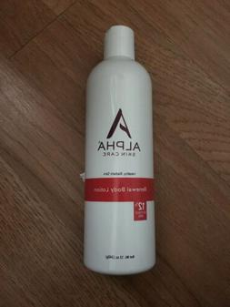Alpha Skin Care - Renewal Body Lotion, 12% Glycolic AHA,