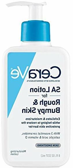 CeraVe Renewing SA Lotion   8 Ounce   Salicylic Acid Body Lo