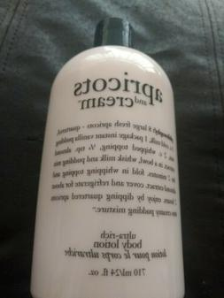 """Philosophy's """"Apricots And Cream"""" Ultra Rich Body Lotion 24"""