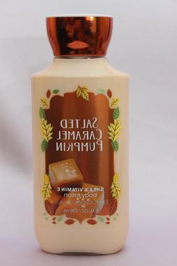 Bath & Body Works Salted Caramel Pumpkin 8 oz Body Lotion Br