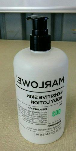 MARLOWE. No. 003 Sensitive Skin Body Lotion 15 oz | Moisturi