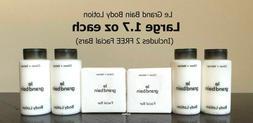 LE GRAND Bain  4 Body LOTION Citron + Vetiver Includes FREE