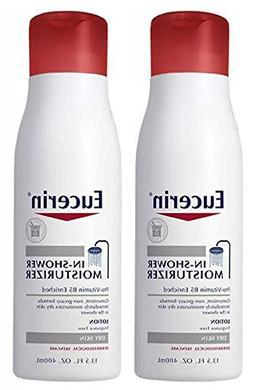 Eucerin In-Shower Moisturizer Body Lotion, 13.5 Fl Oz  by Eu