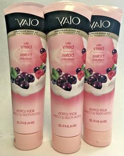 Olay Fresh Moisture Silky Berry Body Lotion, 8.4 Fluid Ounce