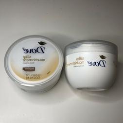 Dove Silky Nourishment Body Cream Moisturizer Soft Skin Deep