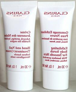 Clarins Skin Care Hand and Nail Treatment Cream Exfoliating
